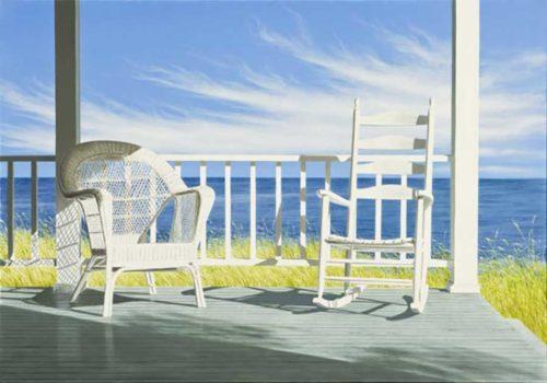 Summer Porch Scene in the Summer