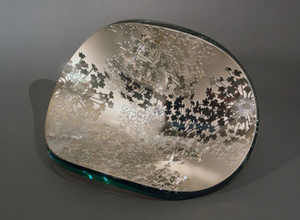 Queen Anne's Lace Vessel by Stephen Schlanser at Art Leaders Gallery - Michigan's Finest Art Gallery