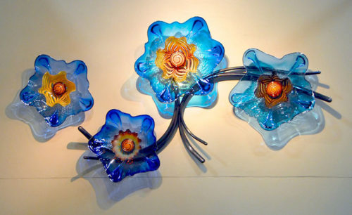 Azul Garden Sundancers by Andrew Madvin at Art Leaders Gallery - Michigan's Finest Art Gallery