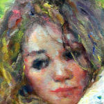 "El Abanico by Jose Royo at Art Leaders Gallery, voted ""Michigan's Best Fine Art Gallery"" is located in the heart of West Bloomfield. This full service fine art gallery is the destination for all your art and custom picture framing needs. Our extensive inventory of art includes styles ranging from contemporary to traditional. The gallery represents international, national and emerging new talent as well as local Michigan artists."