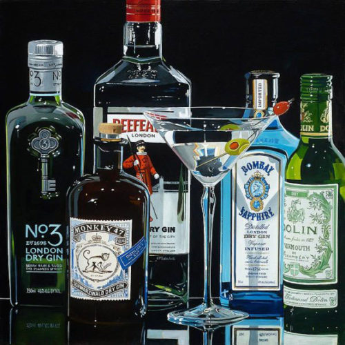 The Dry Martini by Thomas Stiltz at Art Leaders Gallery - Michigan's Finest Art Gallery