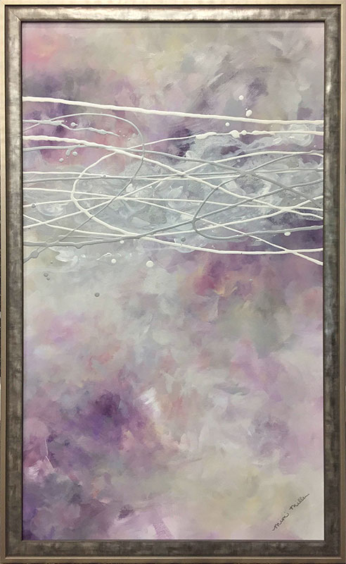 "Lavender Dreams I by Mimi Miller at Art Leaders Gallery, voted ""Michigan's Best Fine Art Gallery"" is located in the heart of West Bloomfield. This full service fine art gallery is the destination for all your art and custom picture framing needs. Our extensive inventory of art includes styles ranging from contemporary to traditional. The gallery represents international, national, and emerging new talent as well as local Michigan artists."