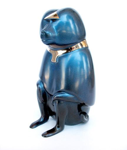 Baboon, Sacred - Sculpture #334