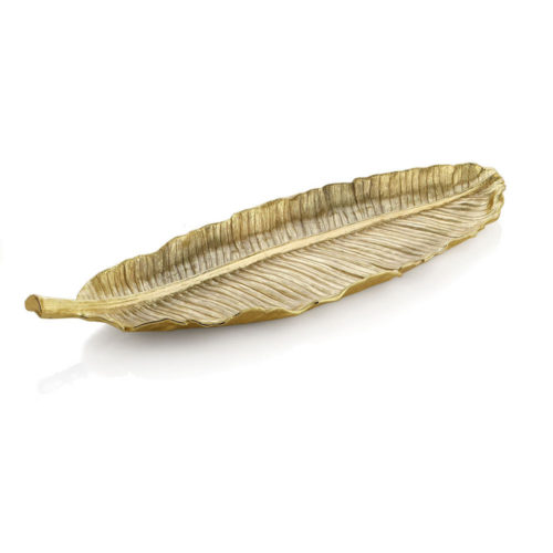 New Leaves Banana Leaf Platter - Large, Item #175655
