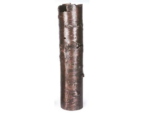 Oxidized Bark Vase - Large