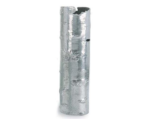 Polished Bark Vase - Medium