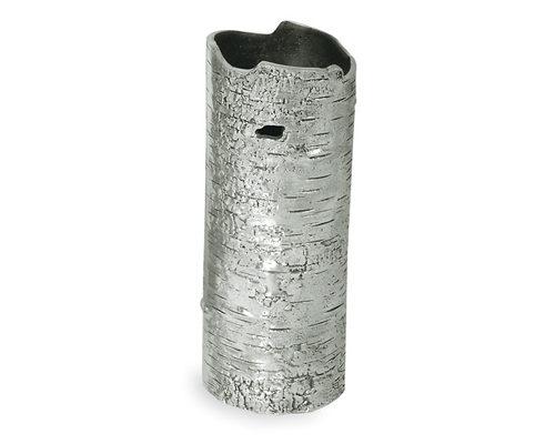 Polished Bark Vase - Small