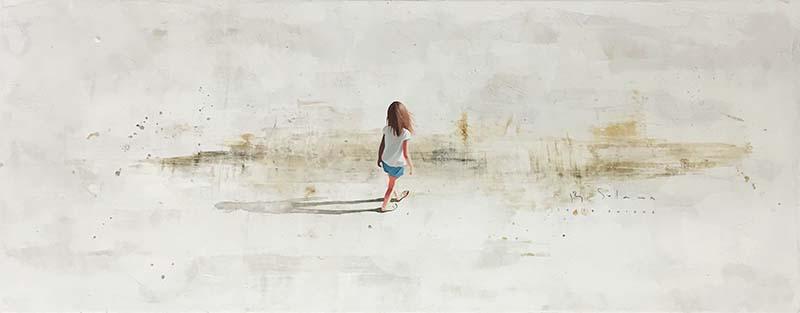Beach Walk I by Berta Solana, Overview