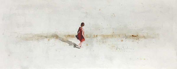 Beach Walk II by Berta Solana, Overview