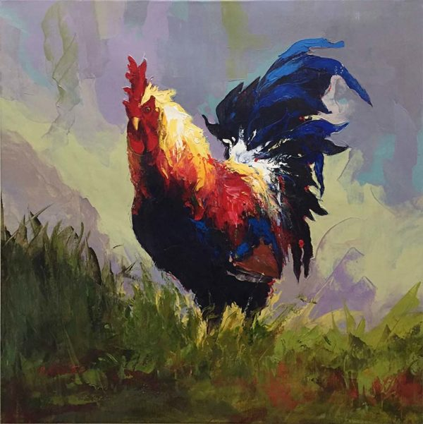 Rooster IV by P. Charles, Overview