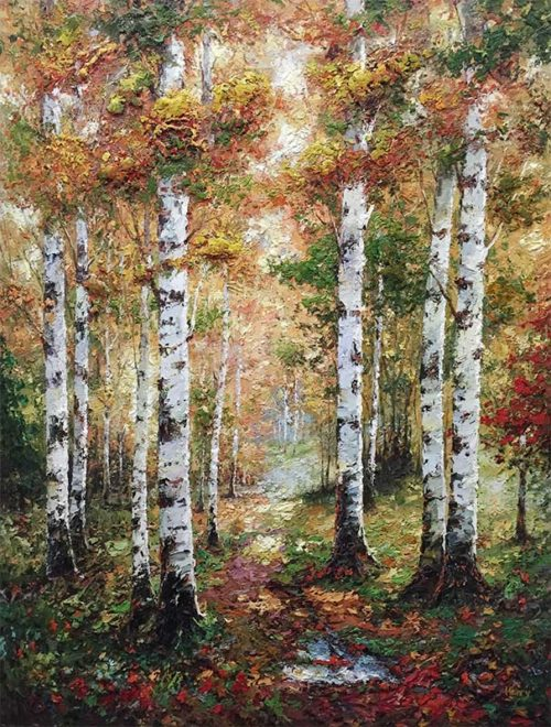 Birch Forest by Henry, Overview