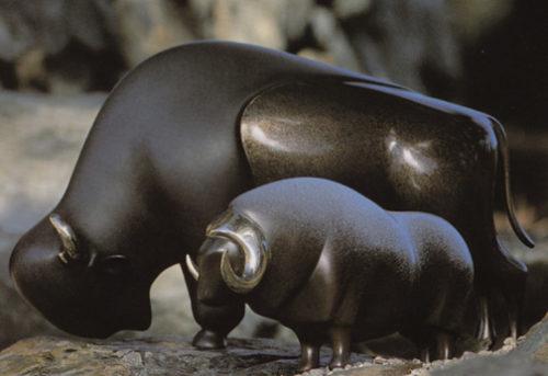 Bison - Sculpture #165