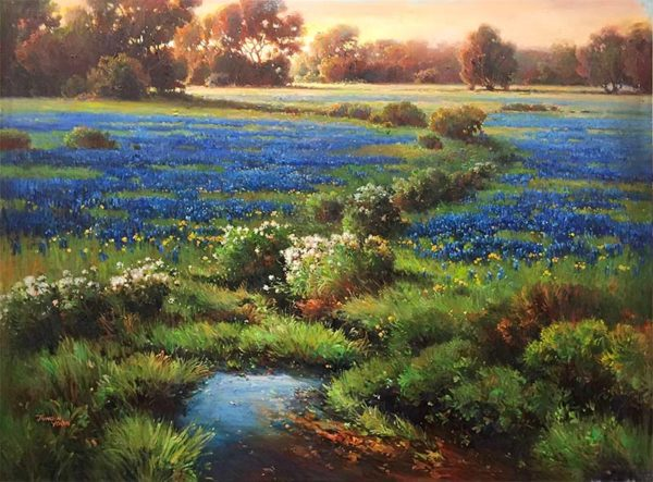 Blue Poppies by Max Jung Yoon, Overview