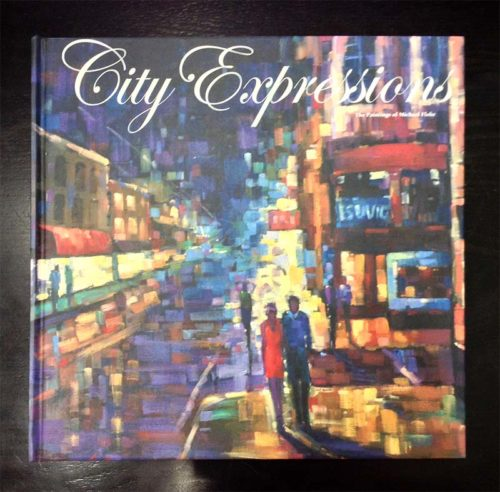 City Expressions Art Book, Cover