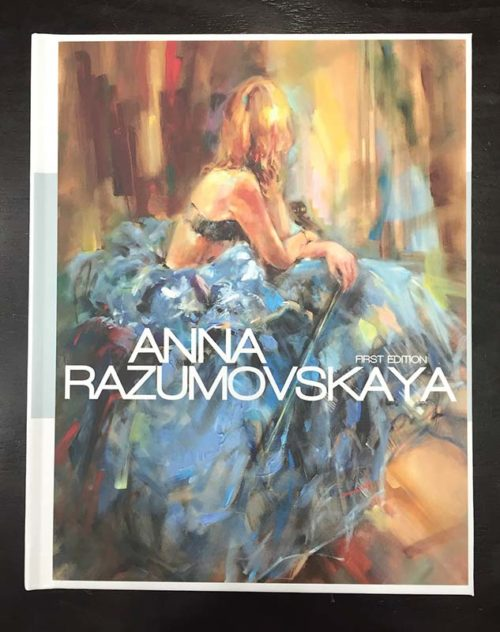 Anna Razumovskaya Art Book - Cover