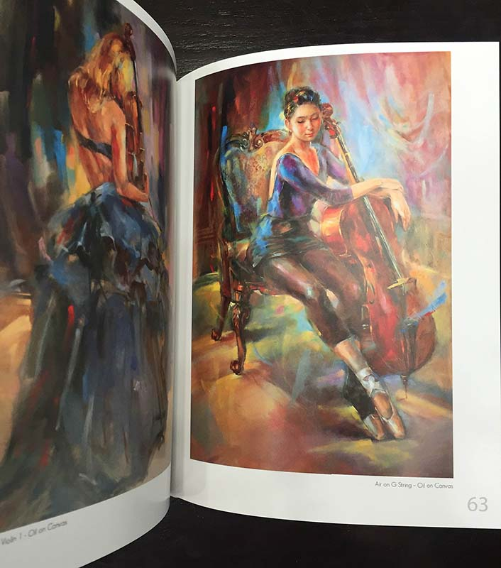 Anna Razumovskaya Art Book - Inner Pages