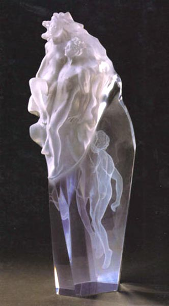 Born of Light - Acyrlic Sculpture