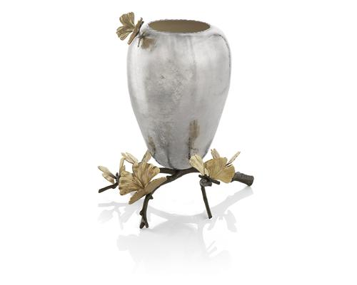 Butterfly Ginkgo Vase, Item #175752