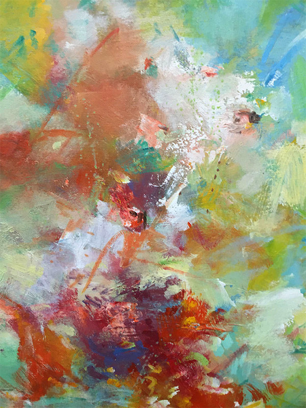 Celebration I by Ann Louis, Detail