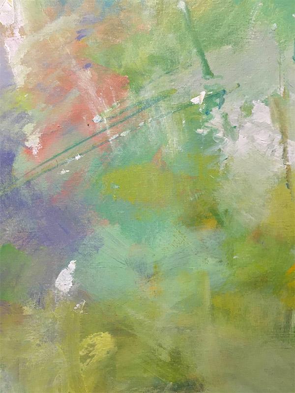 Celebration II by Ann Louis, Detail