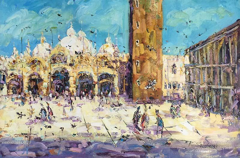 Central Venice by Konstantin Savchenko, Overview
