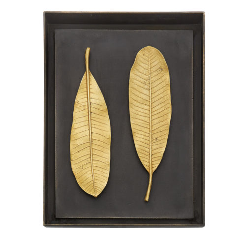 Champa Leaf Shadow Box, Item #176050