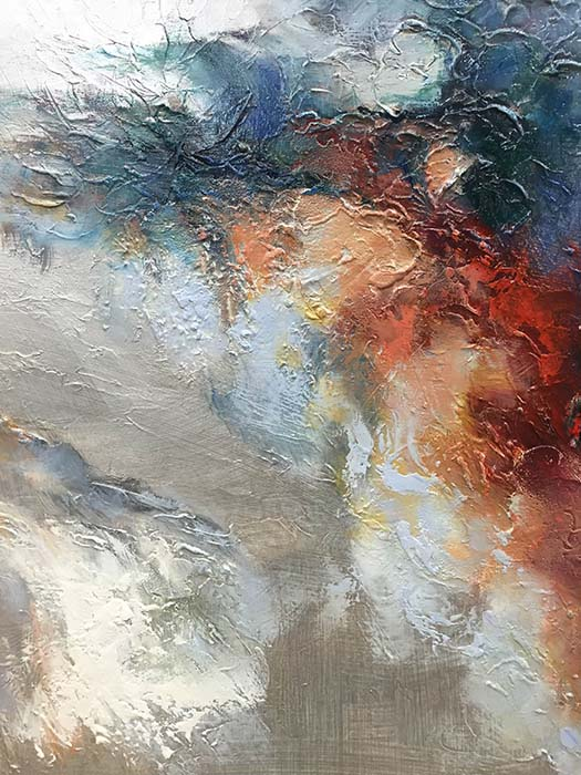 Changing Light I by Sung Min Kim, Detail