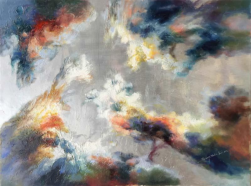 Changing Light I by Sung Min Kim, Horizontal