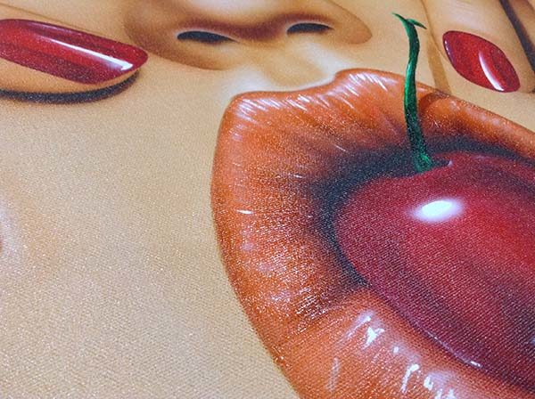 Cherry Pop by Scott Rohlfs, Detail