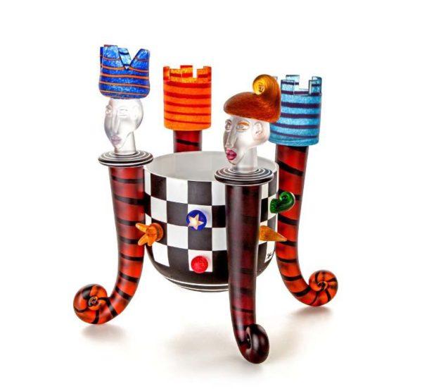 Chess Bowl: 24-98-30 by Stani Jan Borowski