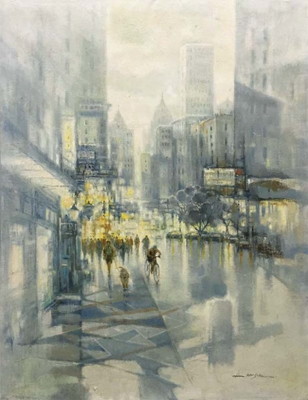 City Reflections I by Lawson, Overview