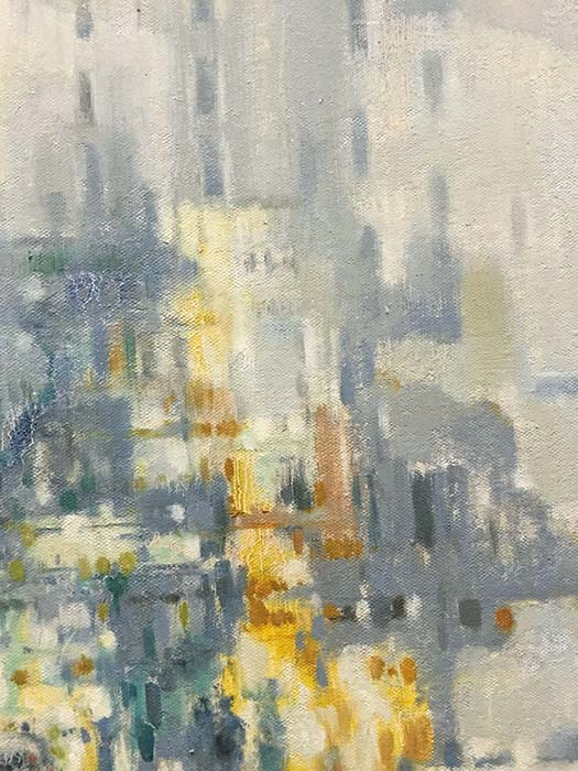City Reflections III by Lawson, Detail