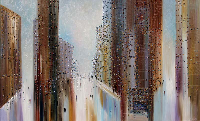 Big City of Dreams by Ekaterina Ermilkina, Overview