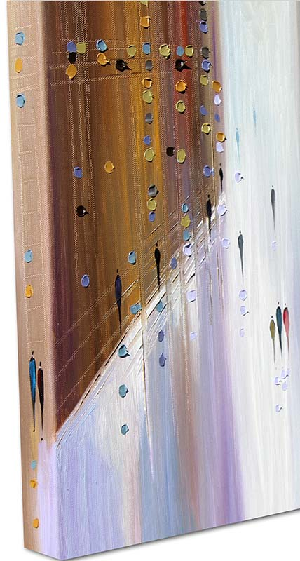 Big City of Dreams by Ekaterina Ermilkina, Gallery Wrapped