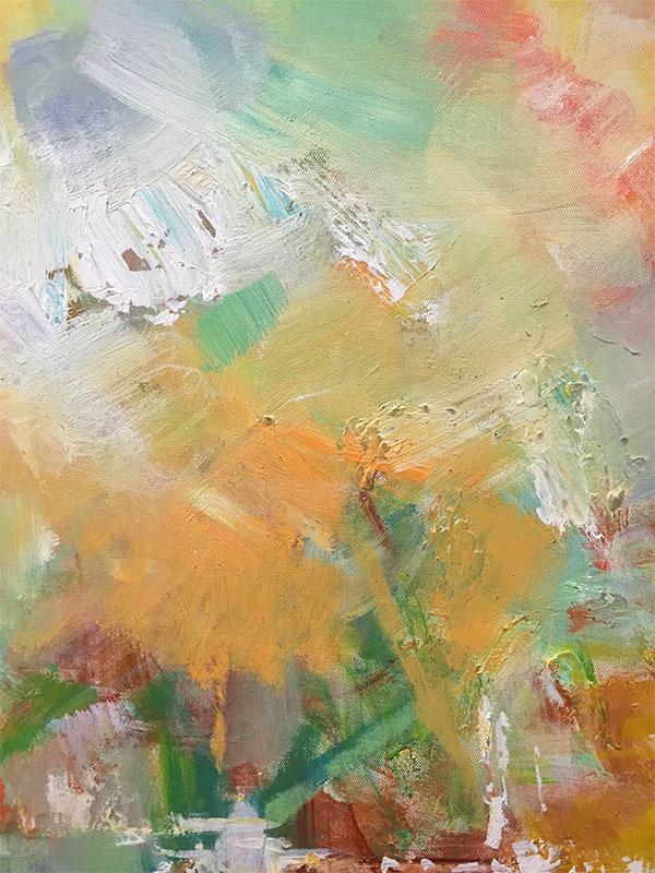Celebration III by Ann Louis, Detail