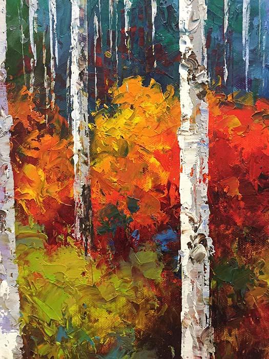 Colorful Season by Van Matino, Detail