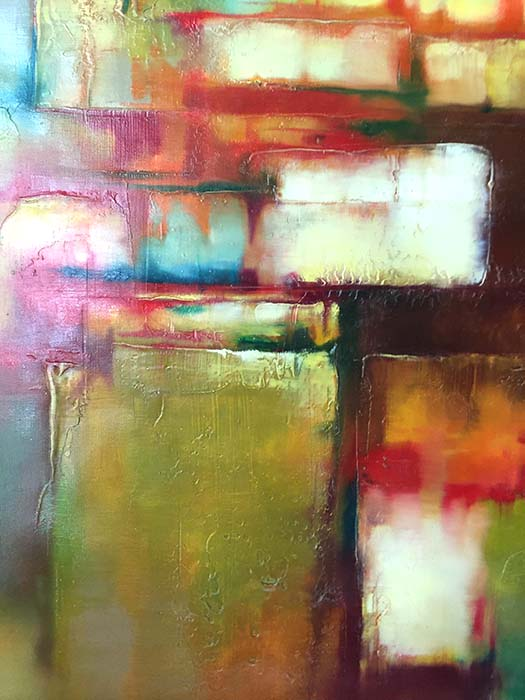 Color in Motion V by Jeff Dixon, Detail