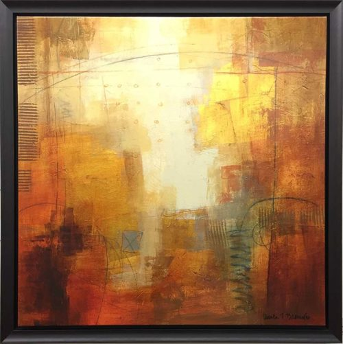 Copper Glow II by Ursula J. Brenner, Overview