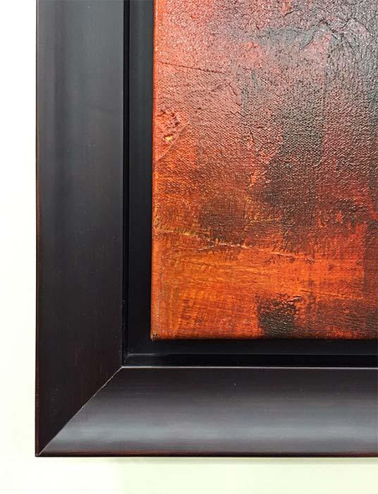 Copper Glow II by Ursula J. Brenner, Frame