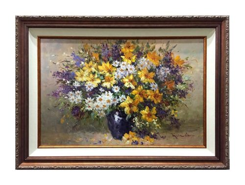 Daisies and Daffodils by Jamie Lisa, Overview