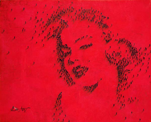 Craig Alan Painting, Marilyn Monroe: Darling, Populous Series