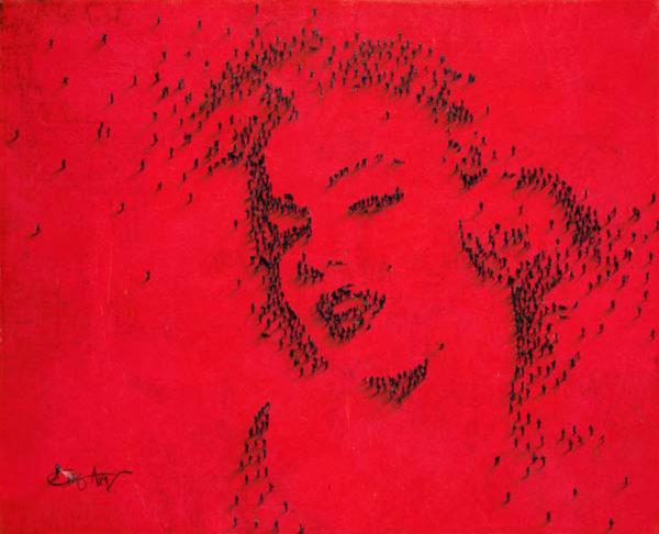 Craig Alan Painting, Marilyn Monroe: Darling, Populous Series