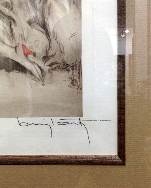 Louis Icart - Don Juan, Signature
