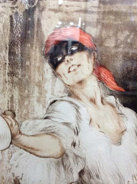 Louis Icart - Don Juan, Detail 2