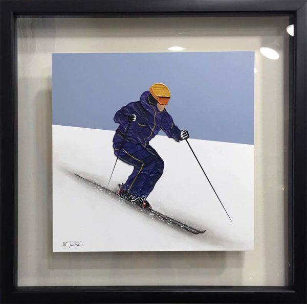 Alpine Skier I by Nuria Miro, Overview