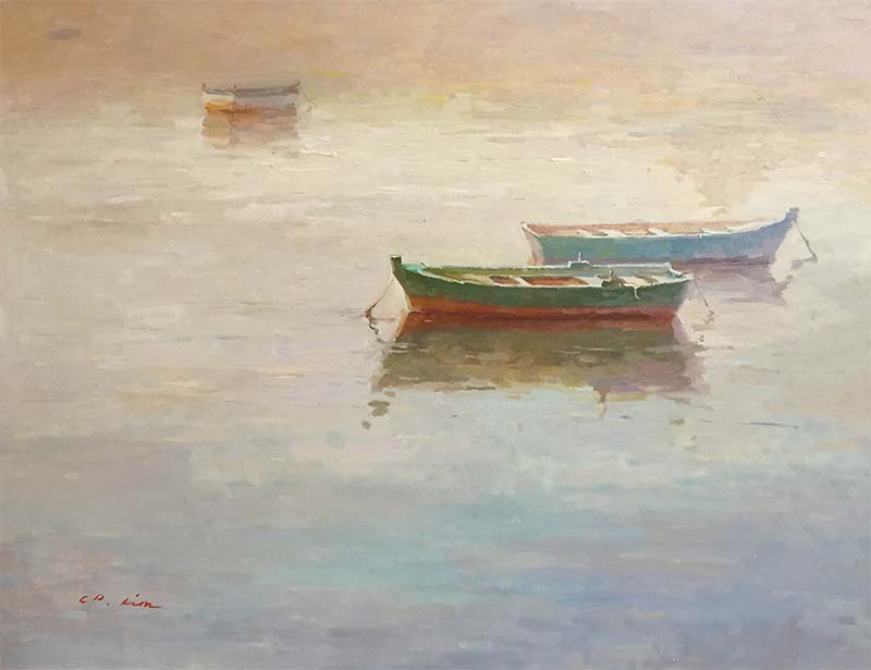 Drifting Off to Tranquility by C.P. Kim, Overview