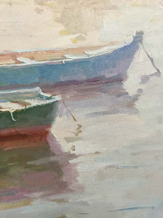 Drifting Off to Tranquility by C.P. Kim, Detail