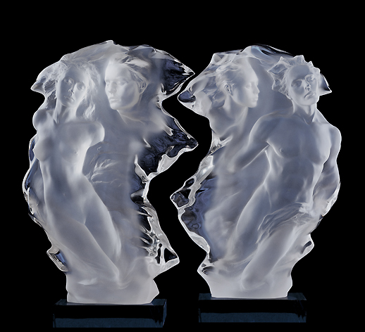 Duet - Acrylic Sculpture