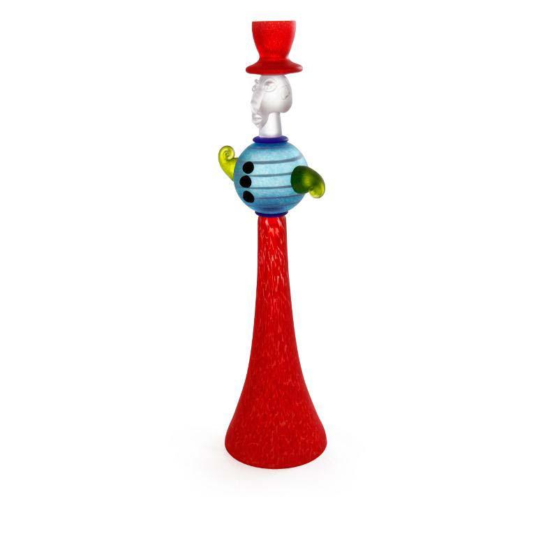 Duke Candleholder: 24-06-14 in Red
