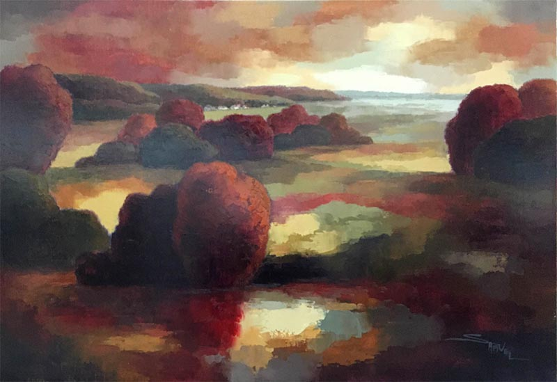 Dusk Reflections II by Samuel, Overview